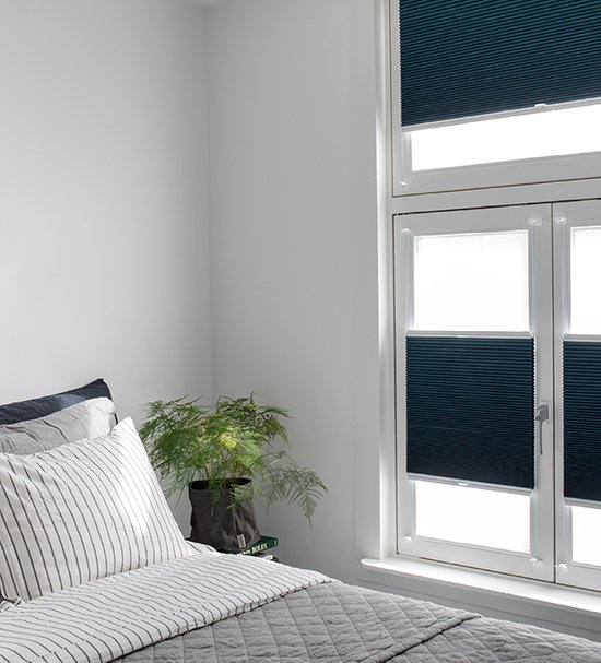 5. Slaap extra goed met verduisterende raambekleding