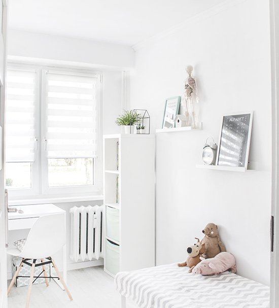 Welke kindveilige raamdecoratie in de babykamer?