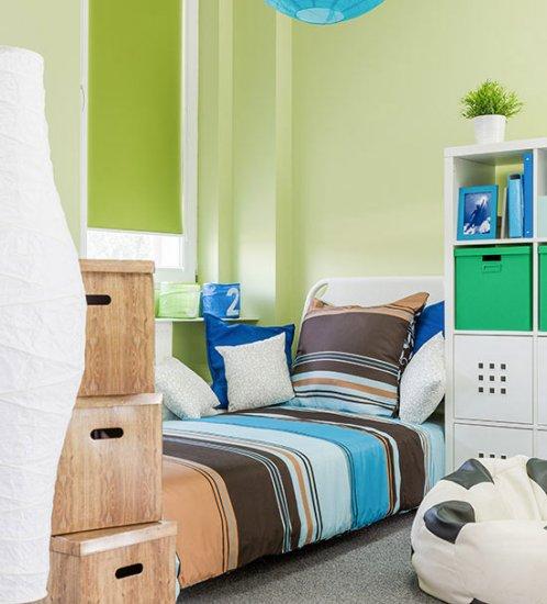 1. Rolgordijn: onmisbaar in je slaapkamer