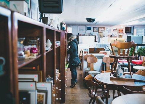 2. Zoek vintage winkels op