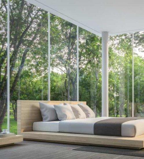 1. Kies de juiste raamdecoratie voor grote ramen