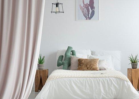 Gordijnen voor de slaapkamer