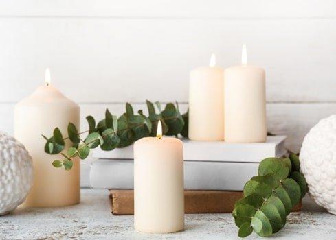 5. Decoreer met kaarsen