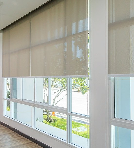 Koordlengte van raamdecoratie