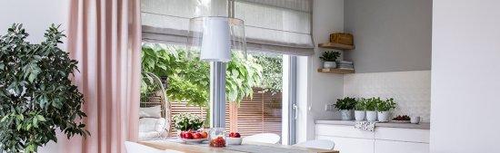 Combineren met andere raamdecoratie