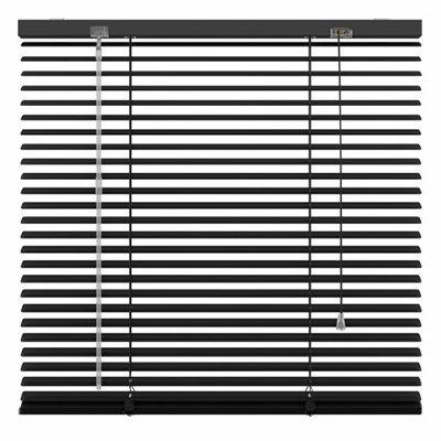 Aluminium jaloezie zwart mat