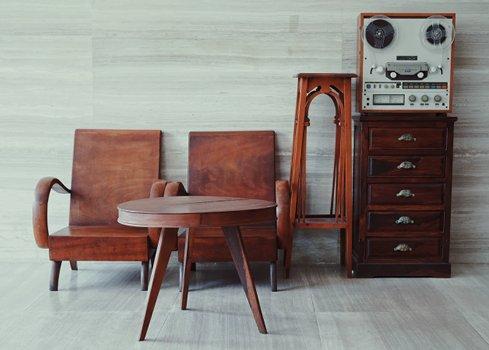 Wat is een retro of vintage interieur?