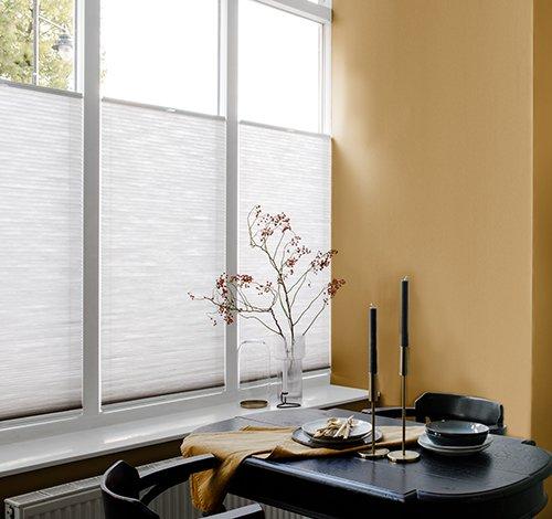Lichtdoorlatende raamdecoratie