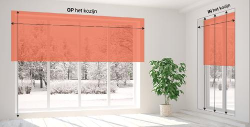 Een standaard raam opmeten