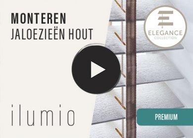 Houten Jaloezie Premium (Elegance)