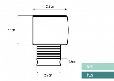 Basic & Plus 25mm