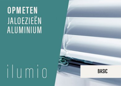Aluminium Jaloezieën Basic
