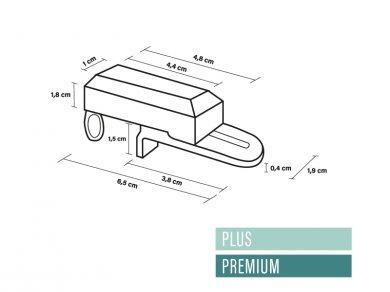 Klemsteun Plus & Premium