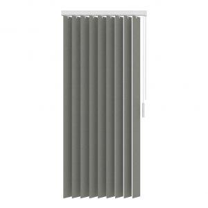 Verticale jaloezie grijs lichtdoorlatend - 150x180cm basic