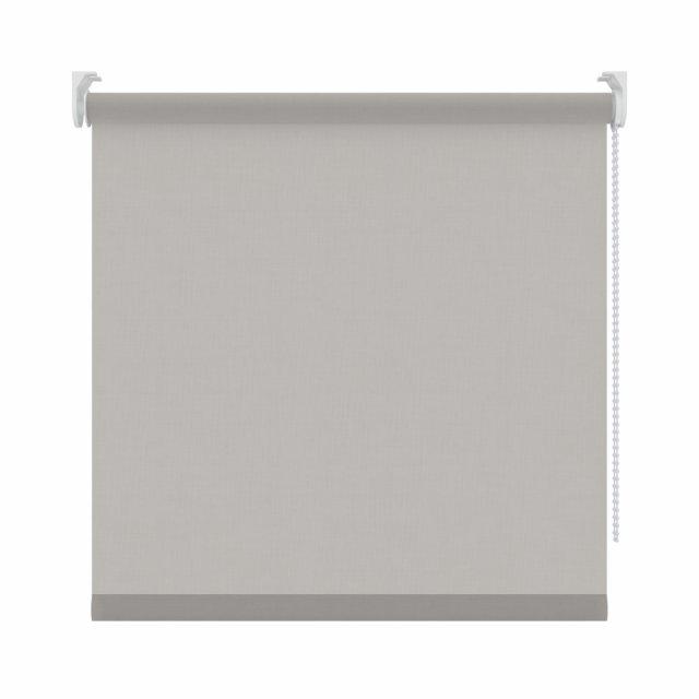 5. Rolgordijn linnen grijs